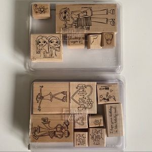 STAMPIN UP Friends Teen Tween Girl Stamp Sets